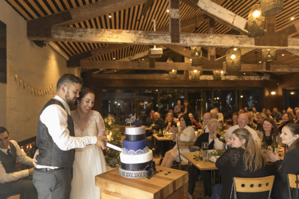 Waihi Beach wedding at Flatwhite Cafe